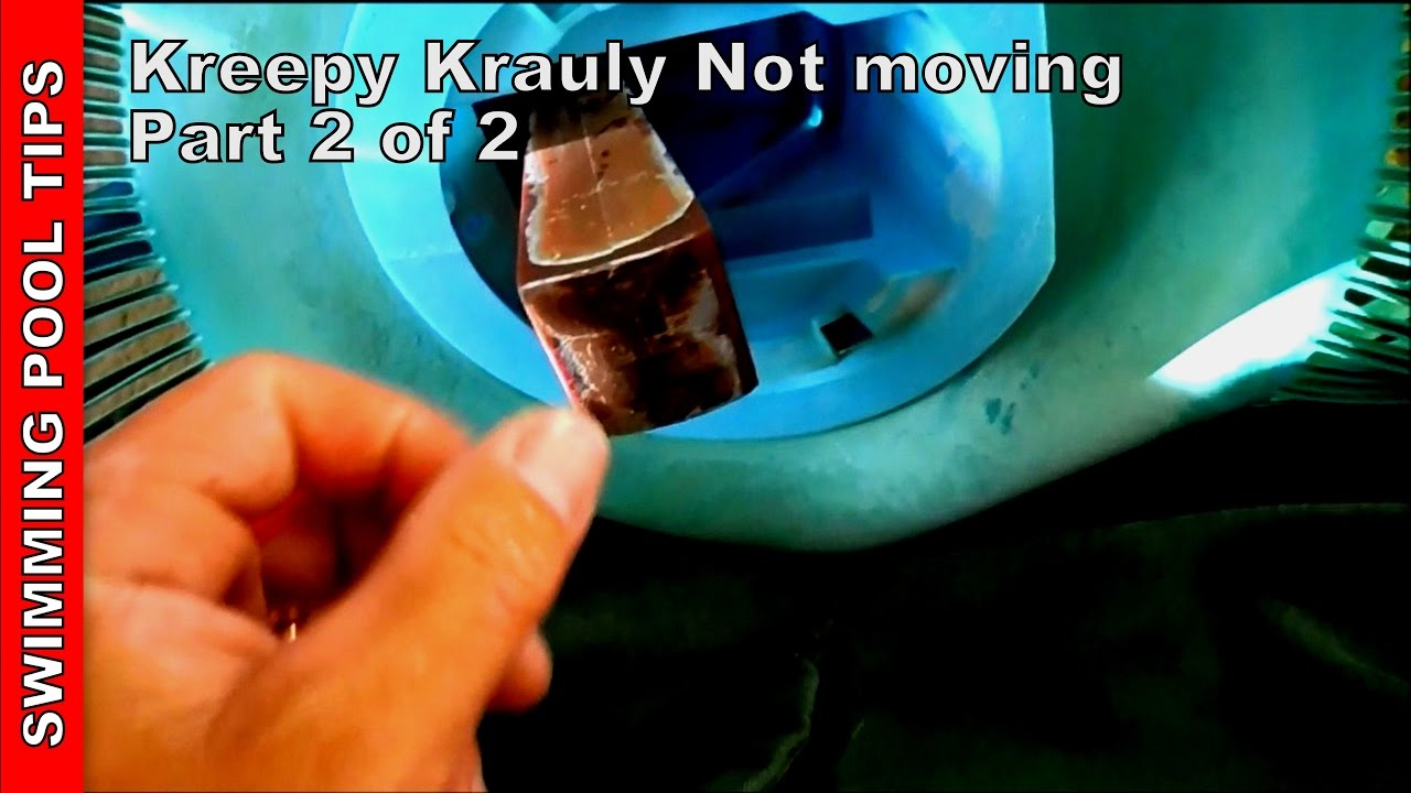 Kreepy Krauly not moving, Part 2 of 2