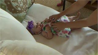 Police officer adopts homeless woman's baby girl