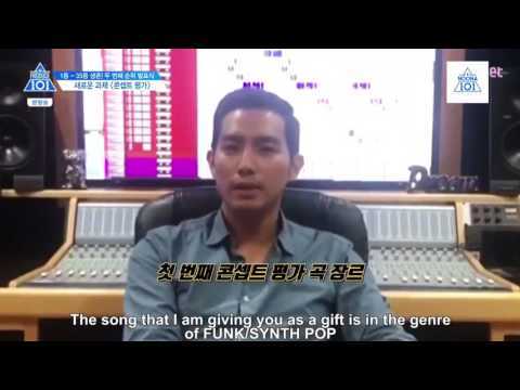 [ENG SUB ]Produce 101 Season 2 Concept Evalution Song Ep 8 cut 1/2