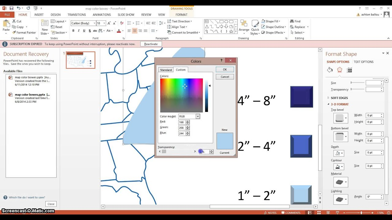 How To Make A Weather Map.How To Make Weather Maps With Powerpoint Youtube