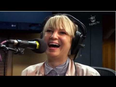 Sia - Soon We'll Be Found - Acoustic - With croaky voice still Magnificent - Triple J TV