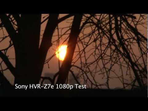 sony hvr-z7u 1080p hdv camcorder