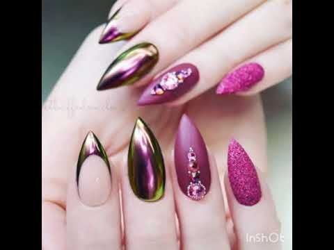 classifica nail art unghie sfumate bianche e rosa estate