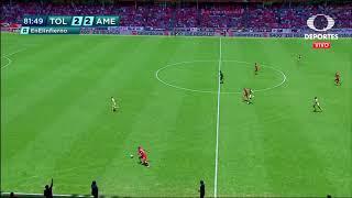Gol de A. Canelo | Toluca 3 - 2 América | Clausura 2019  - Jornada 15 | LIGA Bancomer MX