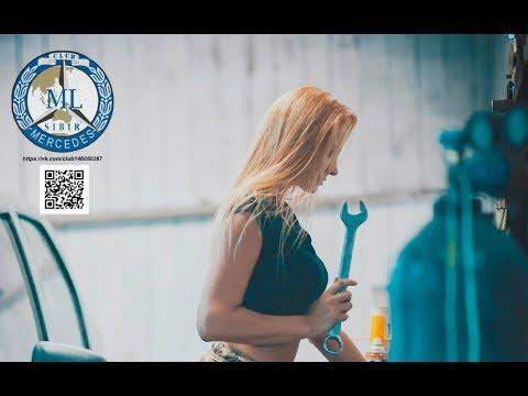 Реклама СТО. Ремонт Мерседес в Новосибирске. Цены.