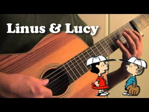 Linus and Lucy (Charlie Brown / Peanuts) - Acoustic Guitar Cover