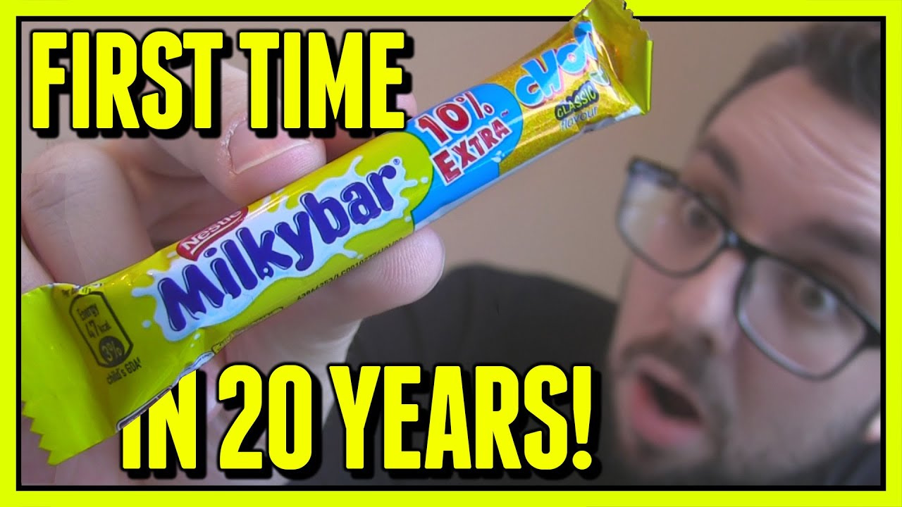 MilkyBar Choo Review (First Time in 20 Years)