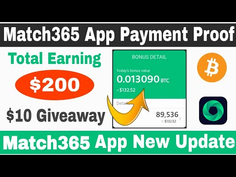 Match365 App Payment Proof 🔥| Match 365 App Big Payment Proof