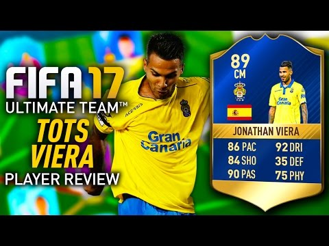 FIFA 17 TOTS VIERA 89 PLAYER REVIEW! FIFA 17 ULTIMATE TEAM!