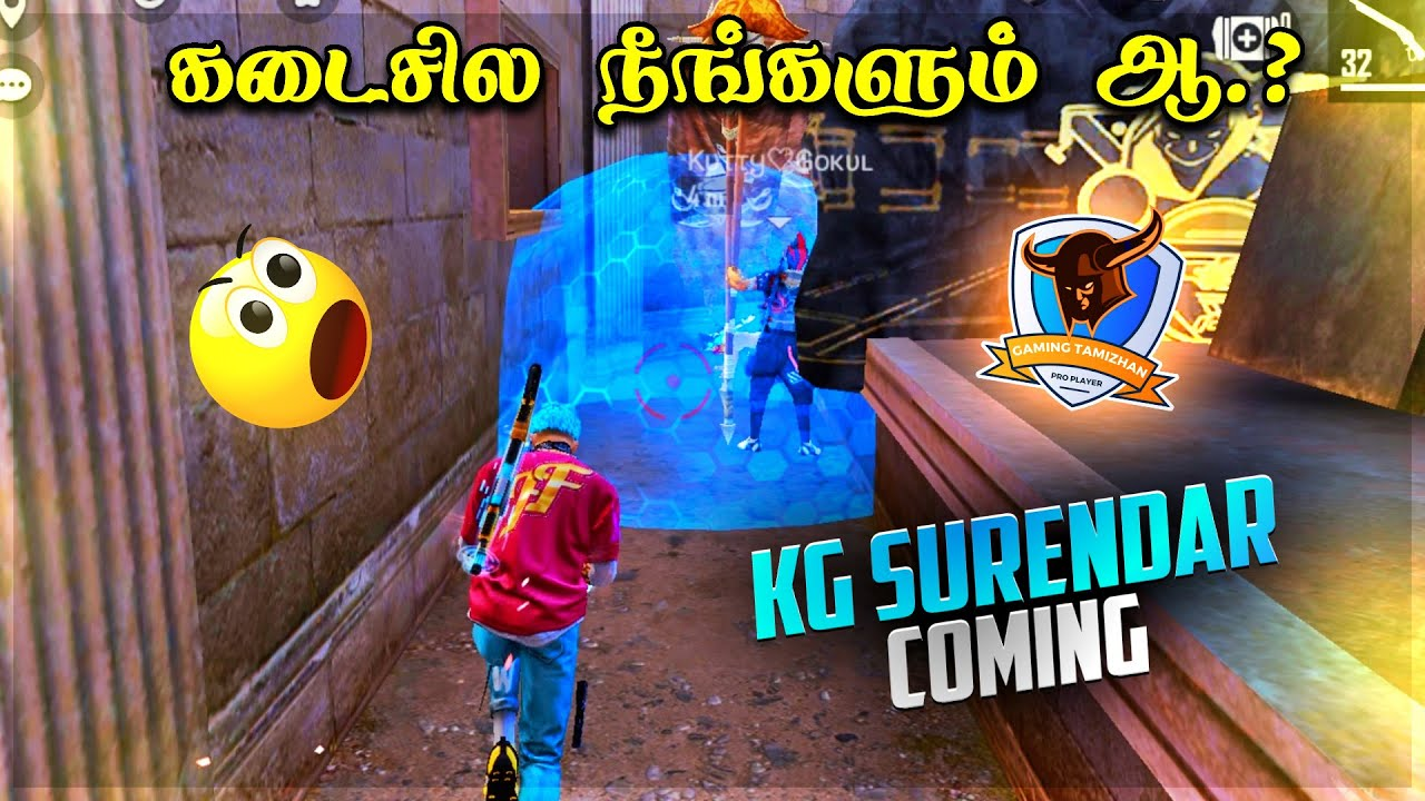 😜Kutty Gokul Surendhar 😡| Free Fire Clash Squad Attacking Squad Ranked Game Tricks Tips Tamil
