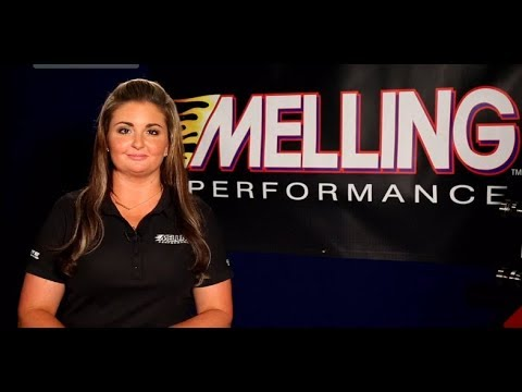 Erica Enders - 2x NHRA Pro Stock Champion promotes Melling Performance Parts!