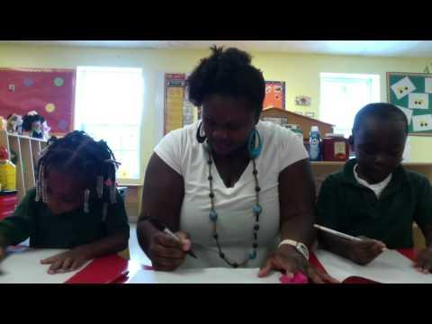 Preschool Writing At Akeba Academy