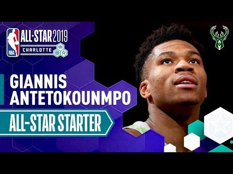 Giannis Antetokounmpo 2019 All-Star Captain | 2018-19 NBA Season