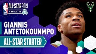 Giannis Antetokounmpo, from the Milwaukee Bucks, has been named a s...