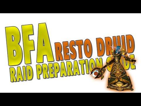 BfA RESTO DRUID