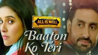 Baaton ko teri sad song ringtone ___ All is well ___ Sad ringtones