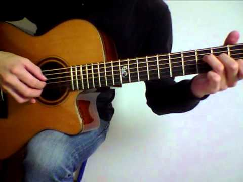 how to play soul to squeeze on acoustic guitar