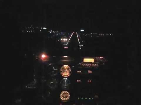 Night flight space coast