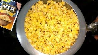 Act 2 Popcorn in Pressure Cooker | Homemade Act II Popcorn in Cooker | Popcorn in 3 min