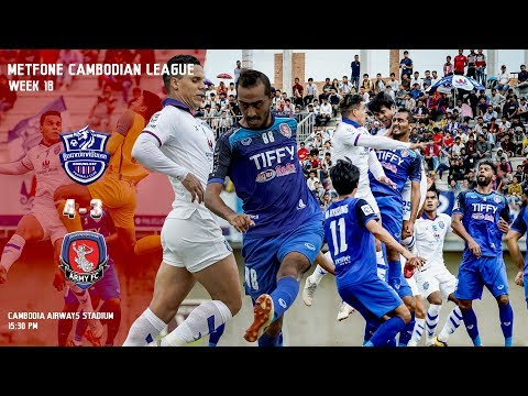 [MCL- Week18] Boeung Ket  FC (4:3) National Defense Ministry FC