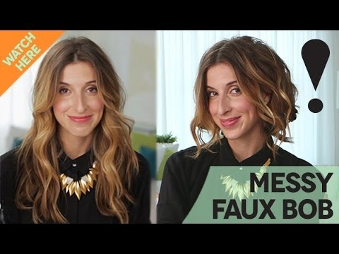 how-to:-messy-faux-bob