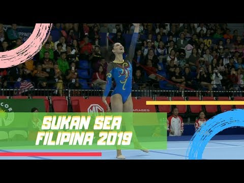EMAS Farah Ann | All Around Individu | Sukan SEA 2019 | Astro Arena