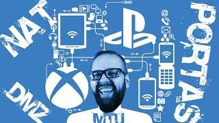 Internet para games#2-Abrir Nat em qualquer Roteador ou Modem, MTU, DMZ