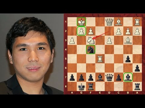 Attacking Dynamic Chess: How to attack the King!: Vassily Ivanchuk vs Wesley So Tata Steel (2015)