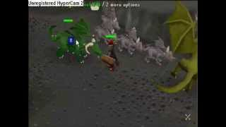 Runescape - Green Dragons and Baby Black Dragons Help