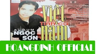 NGOC SON - THUYEN VA BIEN [AUDIO/HOANGDINH OFFICIAL] | Album TINH CA VIET NAM