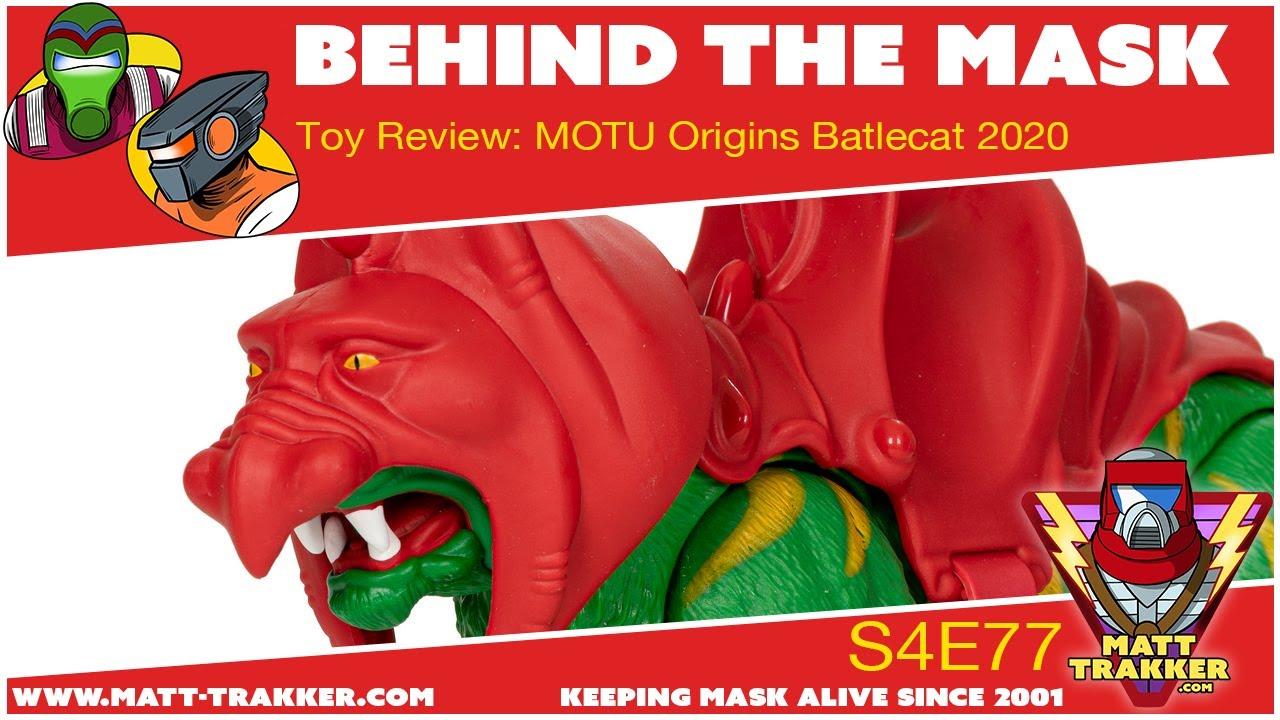 Toy Review: MOTU Origins Batlecat 2020 - s4e77