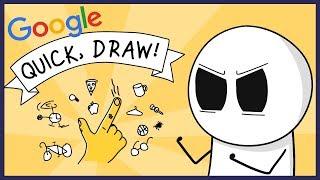 Google AI BATTLE! (Quick Draw)