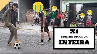 DESAFIO DO X1 CONTRA UMA RUA INTEIRA