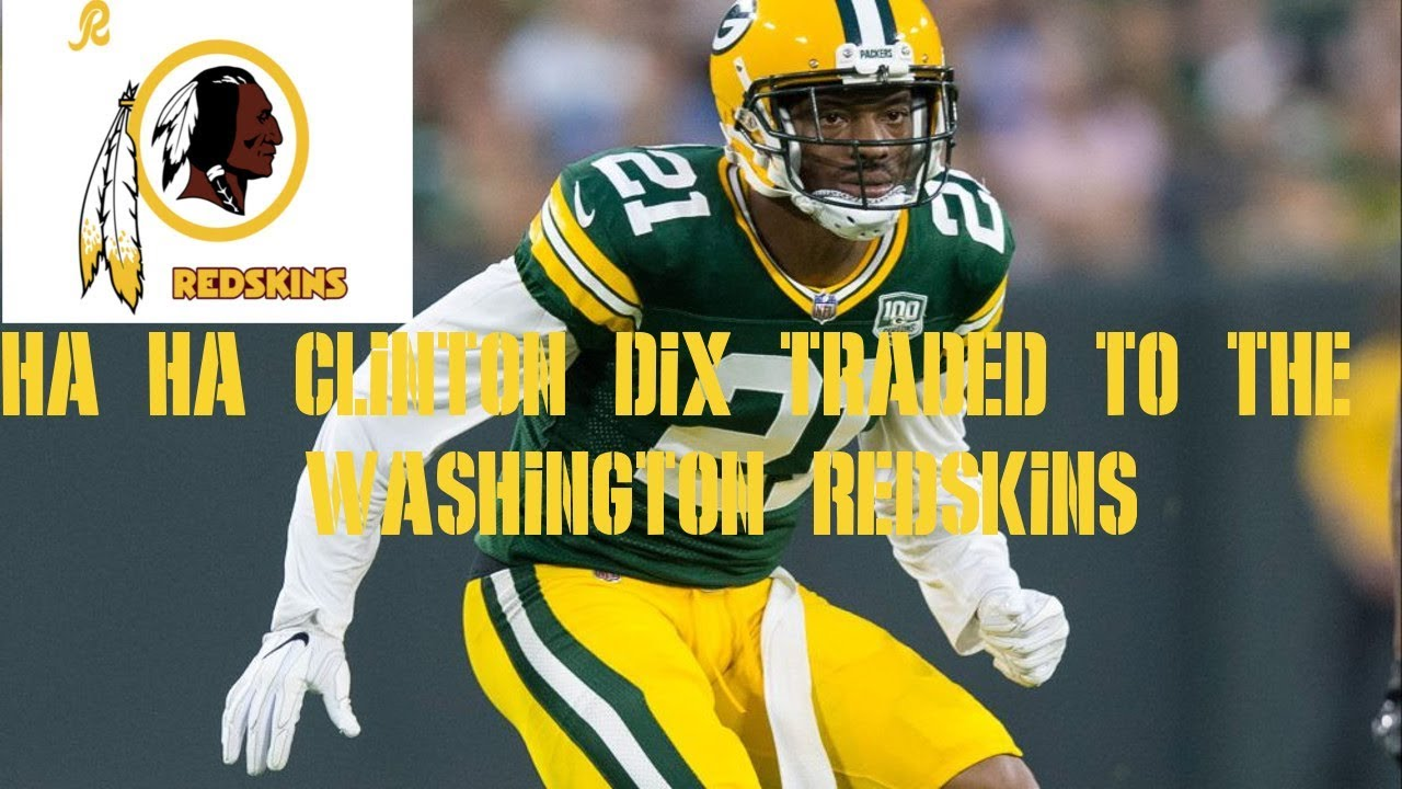 online store 2451a 311f5 HA HA CLINTON-DIX TRADED TO THE WASHINGTON REDSKINS