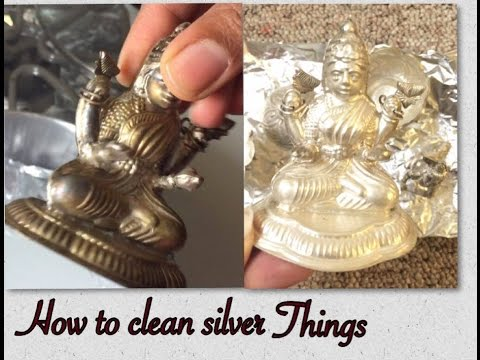 How to Clean Silver Items at Home by using Aluminium Foil  -  TimesNow BreakingNews HD