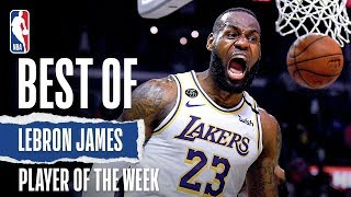 LeBron James | Western Conference Player Of The Week