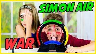 SIMON AIR GAME CHALLENGE! BROTHER vs. SISTER WAR!