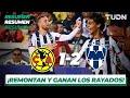 Resumen Y Goles   América 1 - 2 Monterrey   Partido Amistoso   TUDN