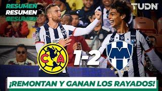 Resumen y Goles | América 1 - 2 Monterrey | Partido Amistoso | TUDN