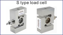 S type load cell 50kg to 5000kg Stainless steel load cell waterproof