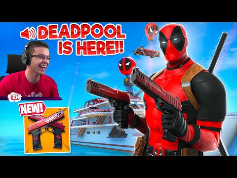 Nick Eh 30 Reacts To NEW Deadpool EVENT In Fortnite!