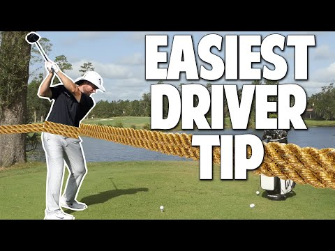 The EASIEST Driver Swing Tip | Learn an Effortless Golf Swing With This Simple Driver Tip