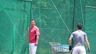 中村奨成 まさかの事態にコーチに呆れられるwww 中村奨成 検索動画 19