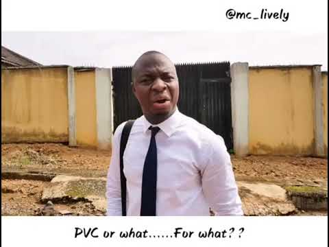 PVC or VISA....(by MC LIVELY)