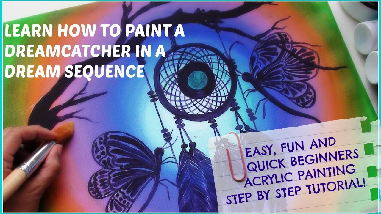 easy fun and quick canvas painting for beginners acrylic painting step by step tutorial - Fun Pictures To Paint
