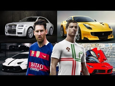 RONALDO vs MESSI - WHO WOULD YOU CHOOSE? (CARS, HOUSES, NET WORTH, WEALTH)