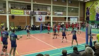 "Волейбол суперлига. Нападающий удар. ""Ярославич"" Ярославль и ""Губерния"""