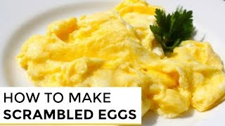 How-To Make Really Good Scrambled Eggs thumbnail