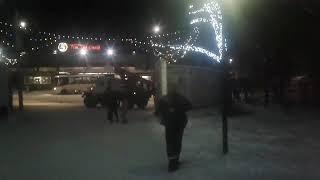 Клип лайт, освещение деревьев гирляндами. Усть-Катав, Челябинская область. ООО АЛТ  2018 год