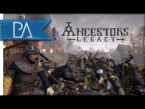 NEW VIKING RTS: VIKINGS VS ANGLO-SAXONS - Ancestors Legacy Skirmish Gameplay